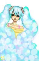 Miku Hatsune - Bubbles by lolcookie4me
