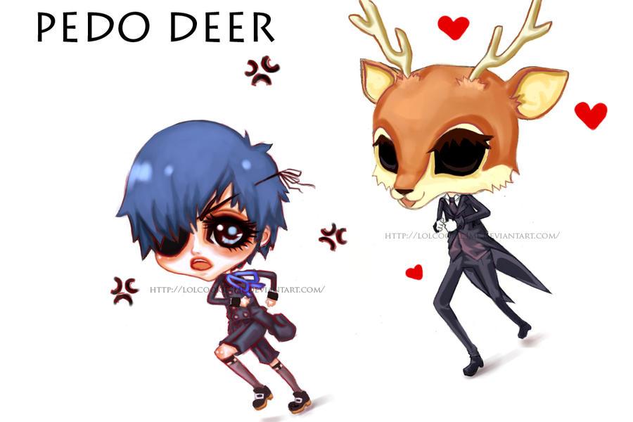 PEDO DEER by lolcookie4me