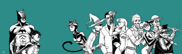 Gotham villians by NRjin
