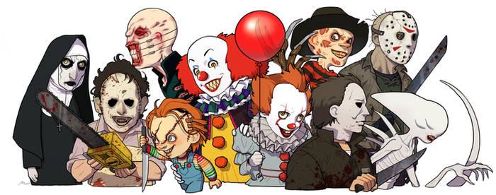 My favorite horror movie characters