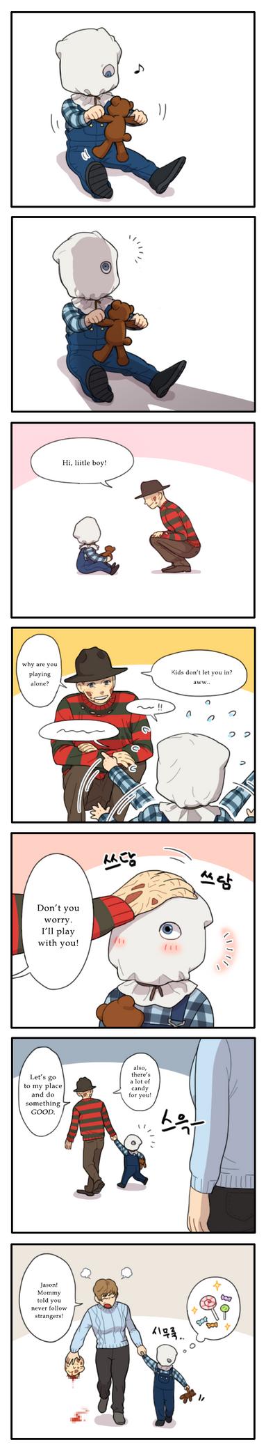 Remake Freddy and little Jason by NRjin