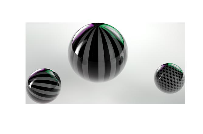 Stripe Sphere by koza30