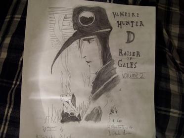 Vampire Hunter D Raiser Gales by ShadowArtistTXL
