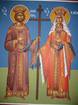 Emperor Konstantinos and Eleni