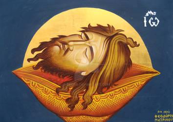 Head of John the Baptist by teopa