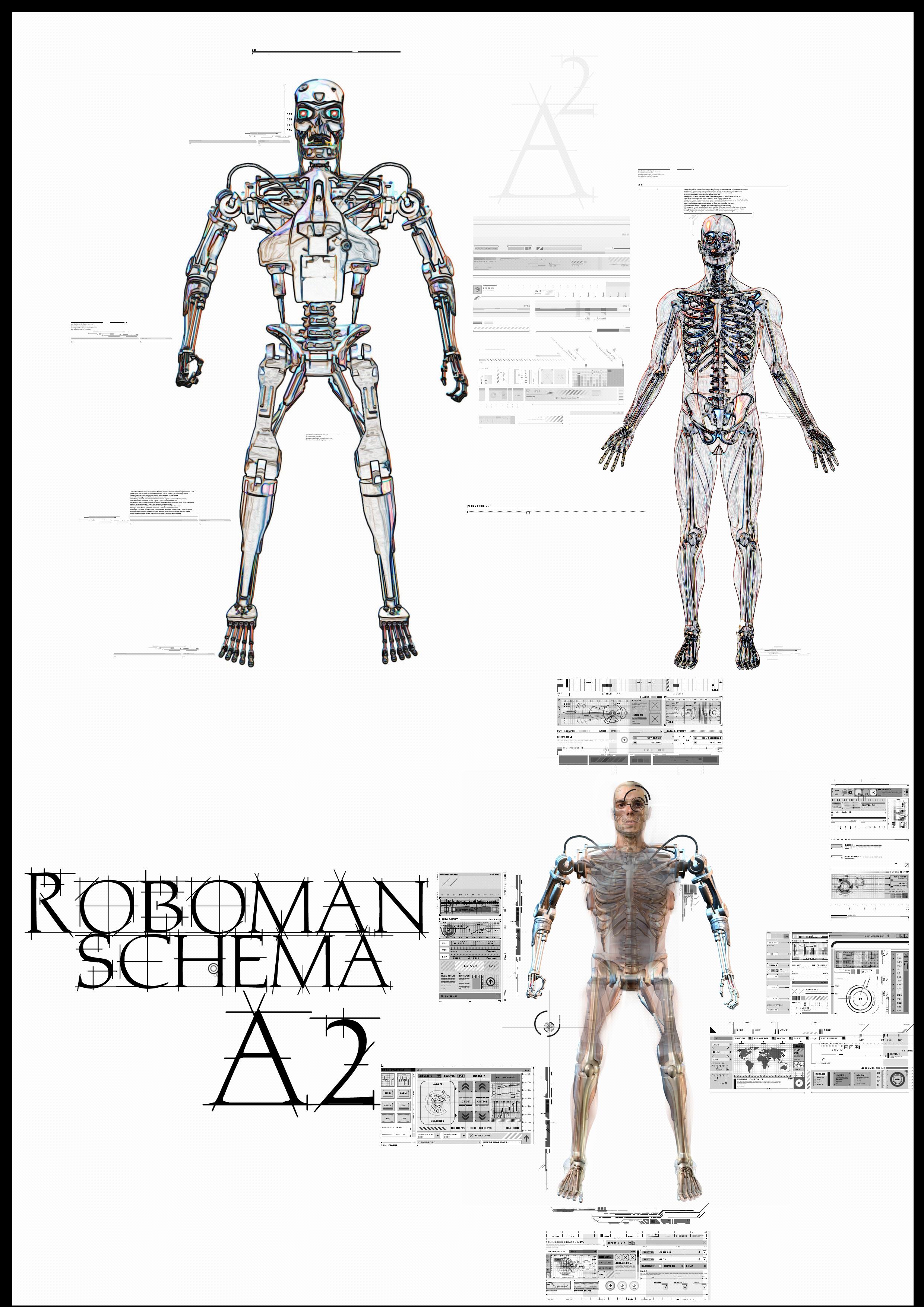 Roboman - Half Man, Half Robot by a2designs