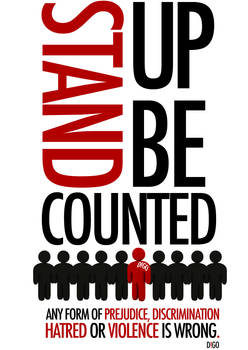 Stand Up, Be Counted by a2designs