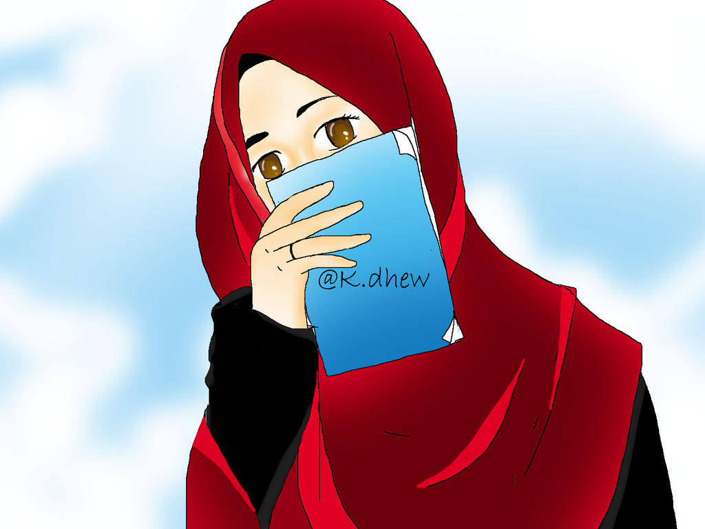 kartun muslimah by kdhew on DeviantArt