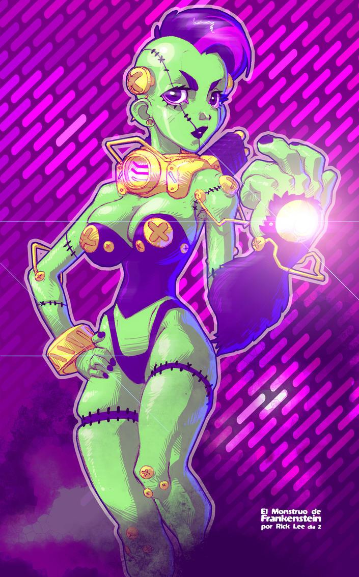 Monstruo de Frankenstein 2 by Rick-Lee