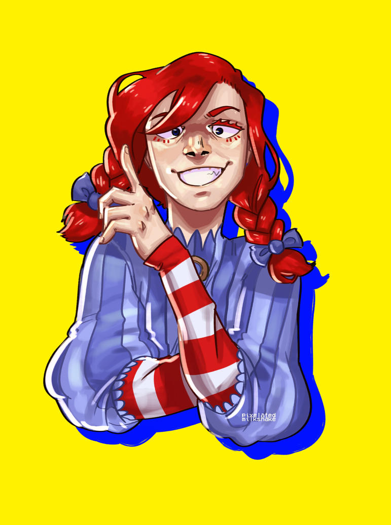 wendy's by pixelatedmilkshake