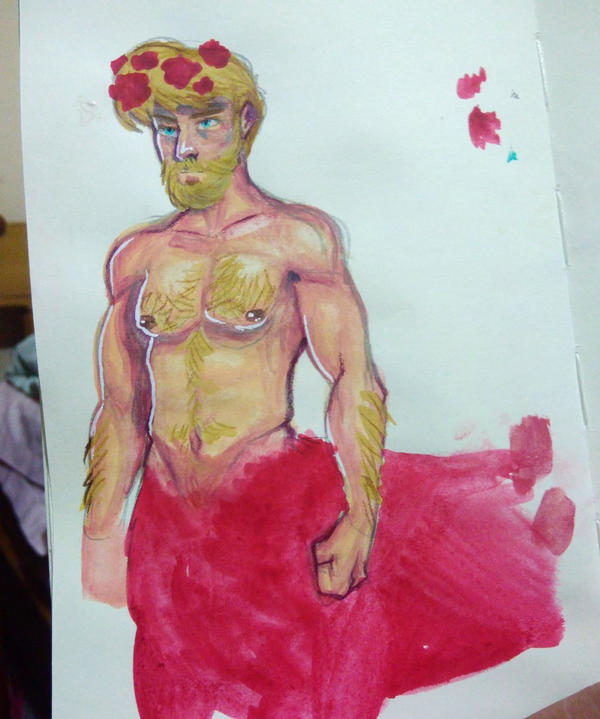 rose centaur by pixelatedmilkshake