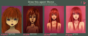 Draw it again... and again
