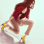 High heels [SPEEDPAINT]