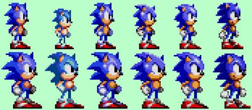 Sonic:8-Bit  to 16-Bit