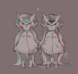 Not Exactly Twins by LainValentine