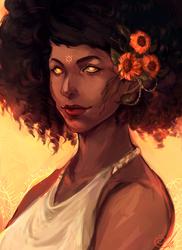Bright as Sun (DrawThisInYourStyle)  by LainValentine
