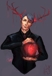 Tonight, my heart (Gore ver)  by LainValentine