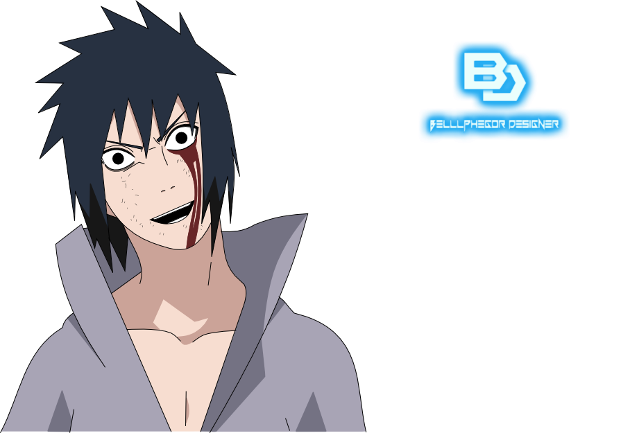 Archivo:Sasuke kirin generations half render by spyroul ...  |Sasuke Kirin Render