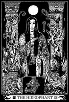 Major Arcana 5 : The Hierophant by Asfahani
