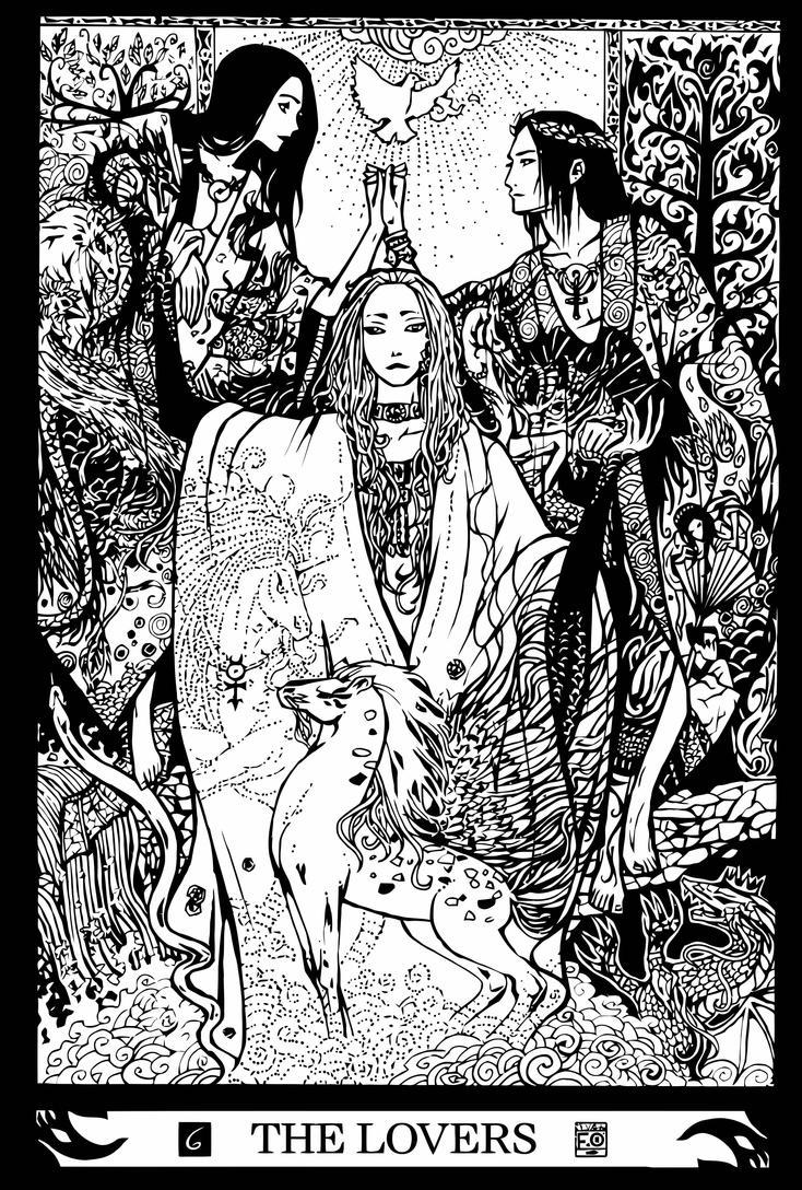 Major Arcana 6 : The Lovers By Asfahani On DeviantArt