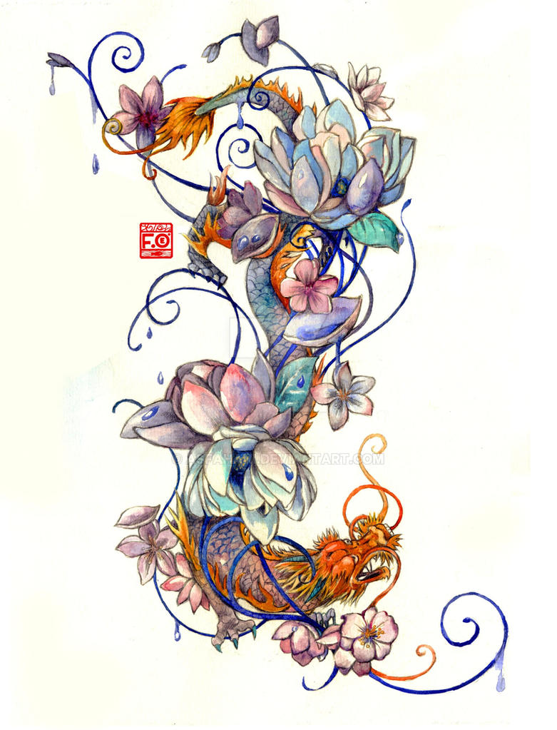 Tattoo Commission by Asfahani