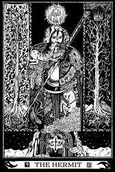 Major Arcana 9 : The Hermit by Asfahani