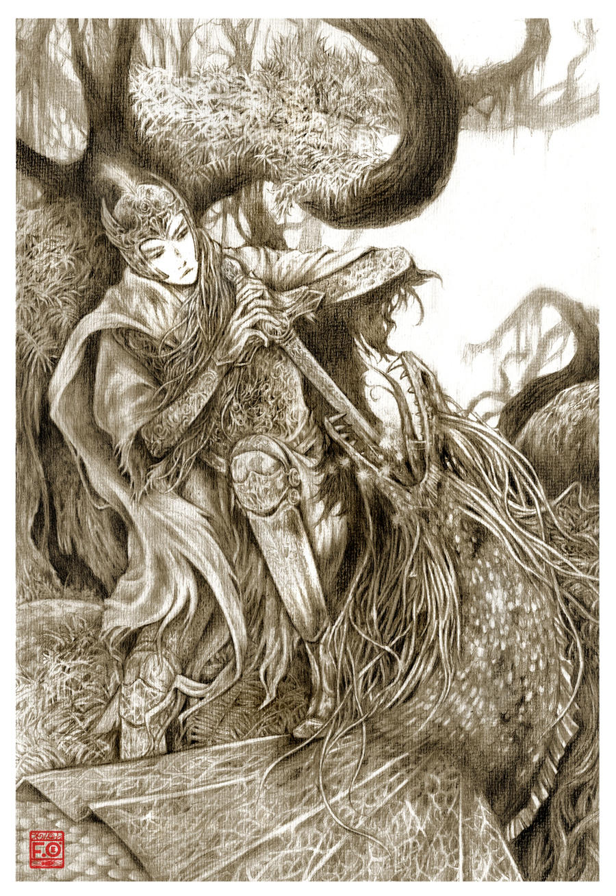 storybook illustration by Asfahani