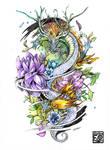 Dragon Tattoo Commission