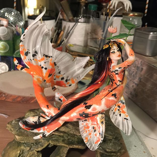 Koi Mermaid by S0WIL0