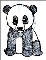 Panda by Candle-stic