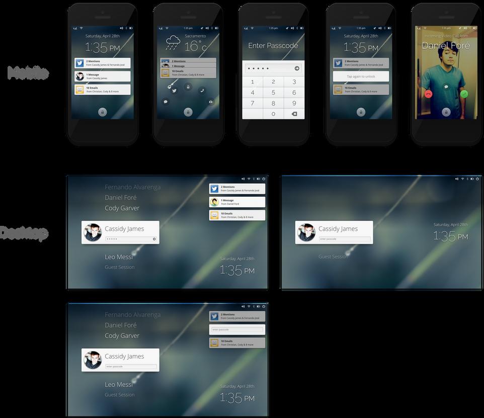 Lock Screen by DanRabbit