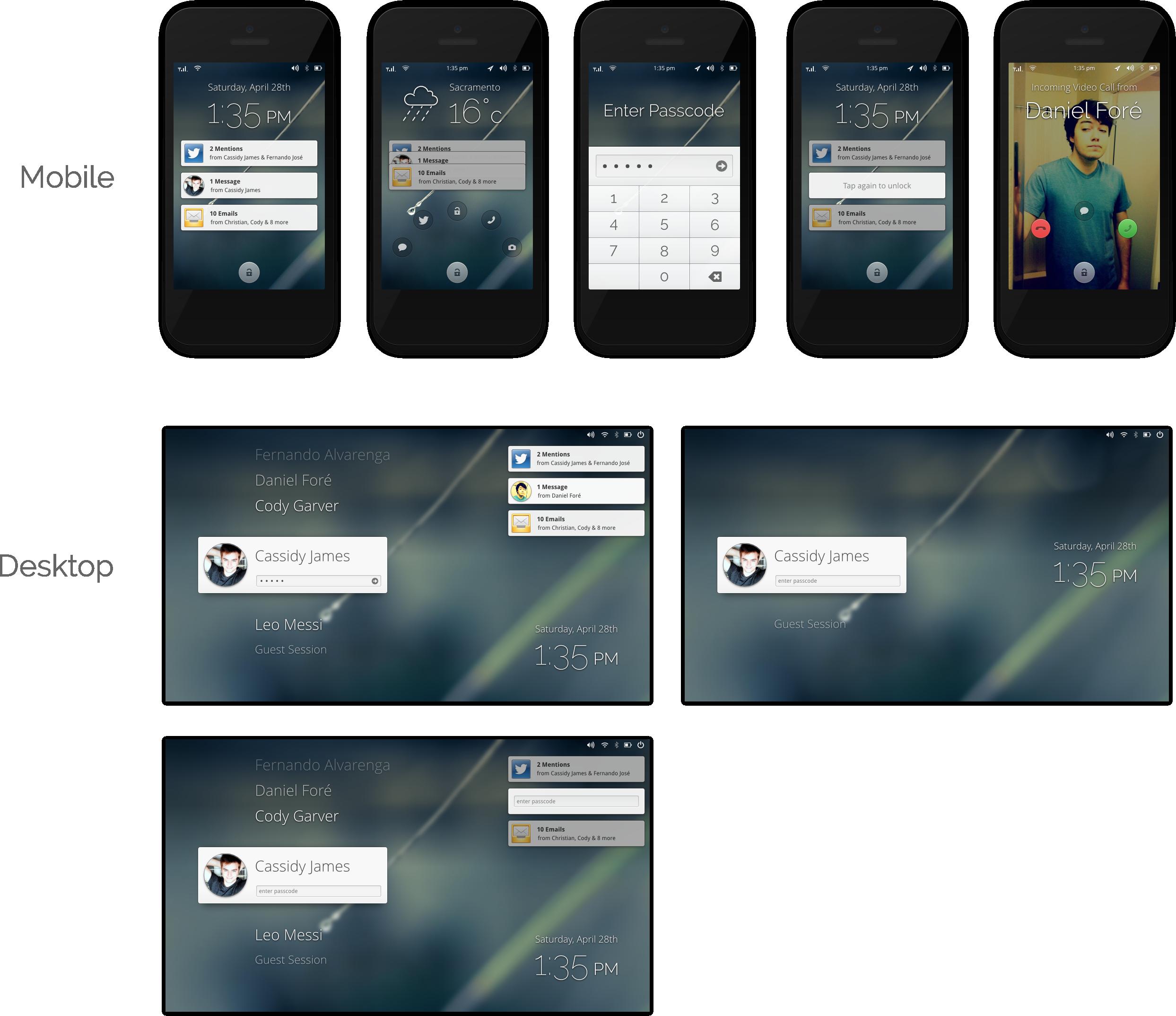 Lock Screen by DanRabbit on DeviantArt
