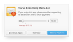 Payment Reminder Dialog by DanRabbit