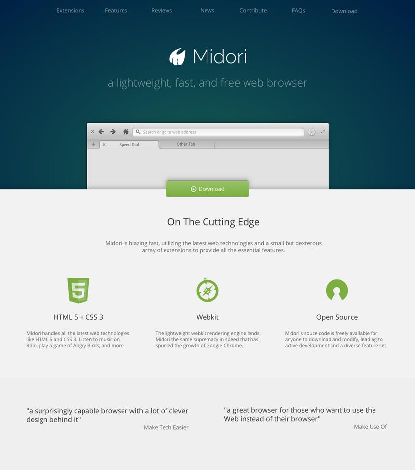 Midori Browser.org by DanRabbit