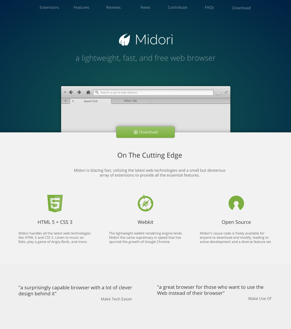 Midori Browser.org by DanRabbit