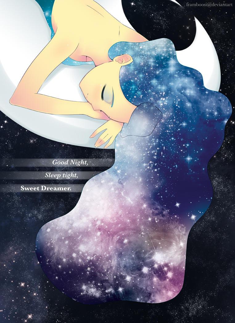 Luna's Peaceful Dreams by framboosi