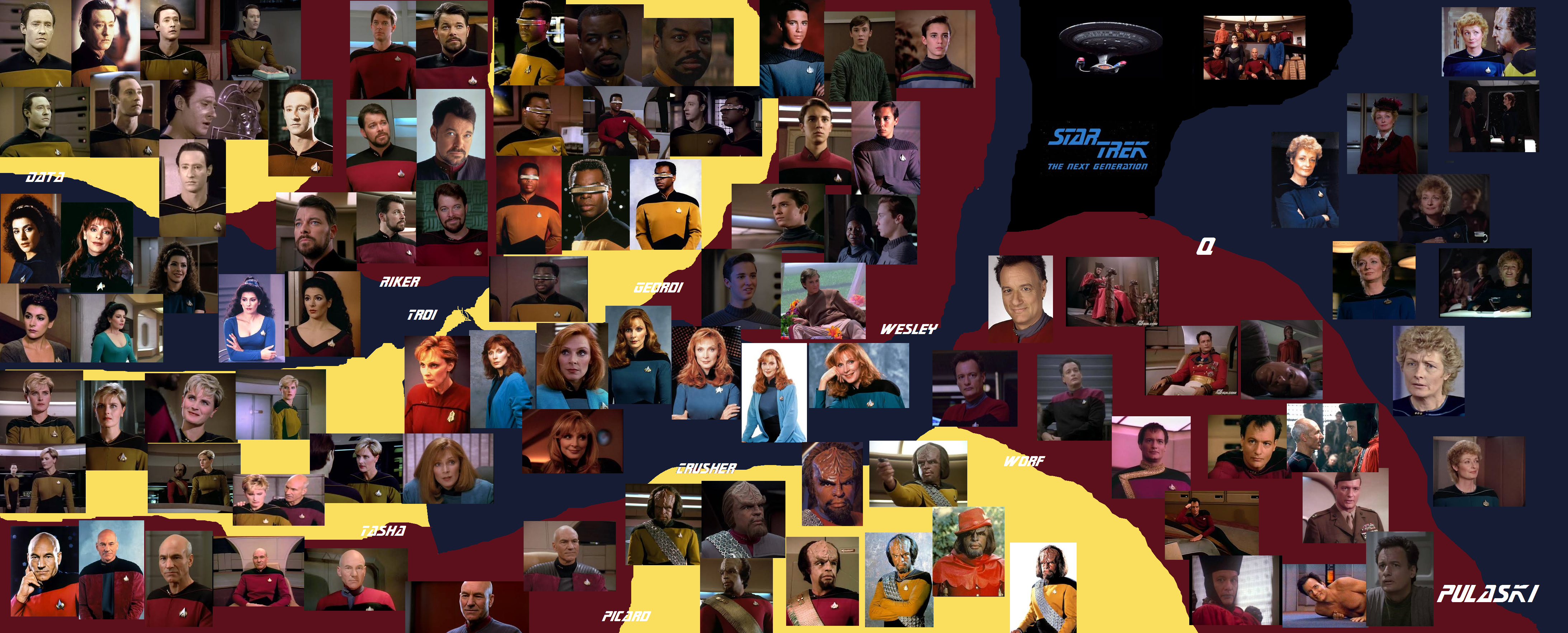 Star Trek Tng Wallpaper By Millylove1098 On Deviantart