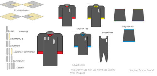 SFRS Female Variant Uniform Concept by millylove1098