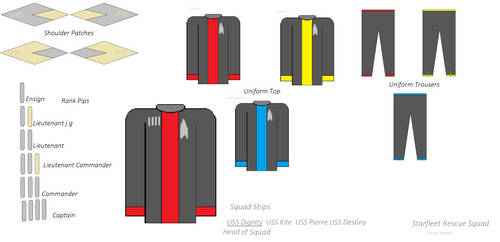 SFRS Casual Uniform Concept by millylove1098