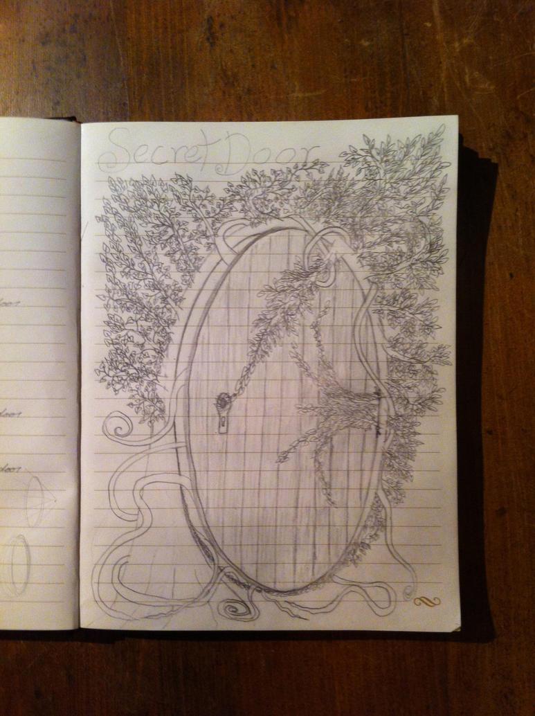 Evanescence-Secret Door drawing by SnowWolfx13