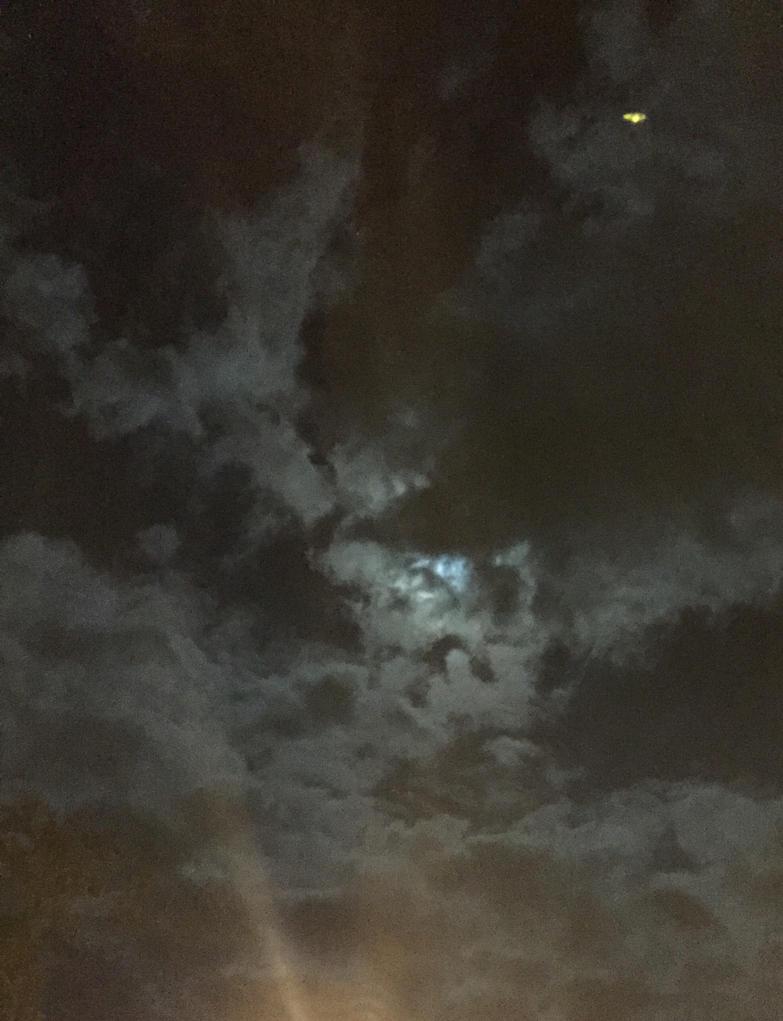 Moonlit Clouds by SnowWolfx13