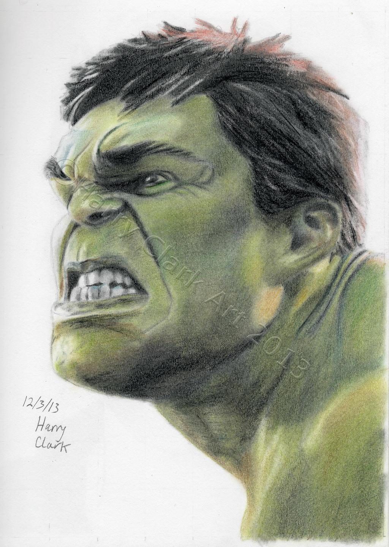 Hulk Face Line Drawing : The incredible hulk by rj on deviantart
