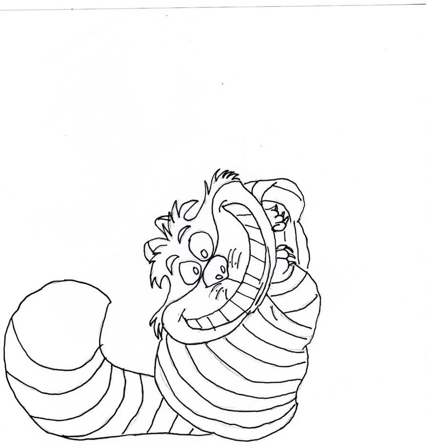 cheshire cat coloring page - interior design coloring sheets joy studio design