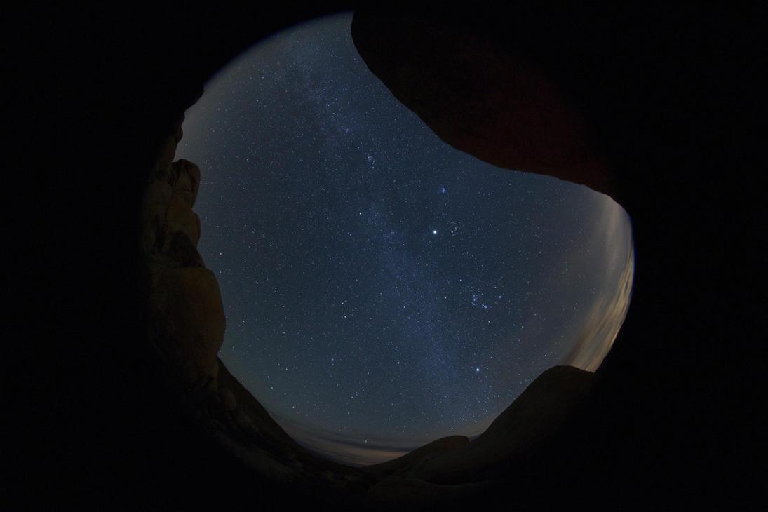 Winter Milky Way by amewz