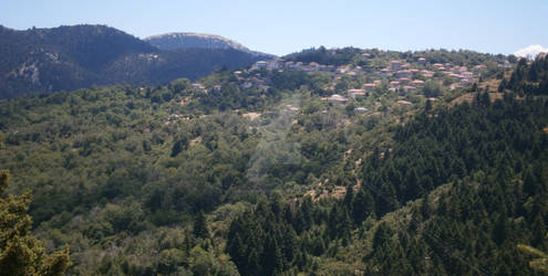 KOSMAS VILLAGE AND CHESTNUT FOREST -ARCADIA-GREECE
