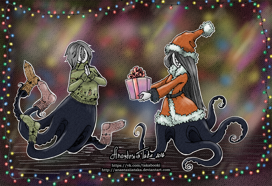 Happy Holidays by AnastasiiaTaka