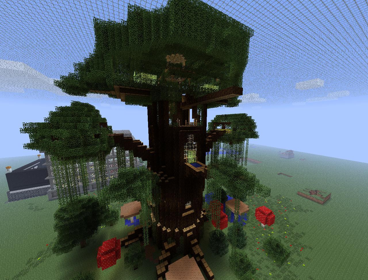 minecraft giant tree wip2 by slappyhand on deviantart