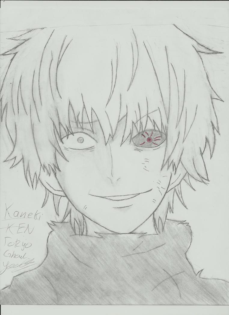 Kaneki Ken Tokyo Ghoul by YaQuadri on DeviantArt