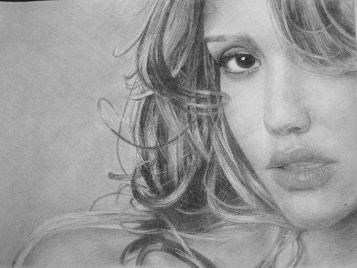 Jessica Alba by Caldufer