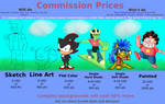 [OUTDATED] Commission Prices